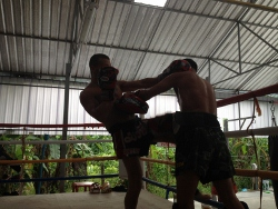 muay thai camp , thailand